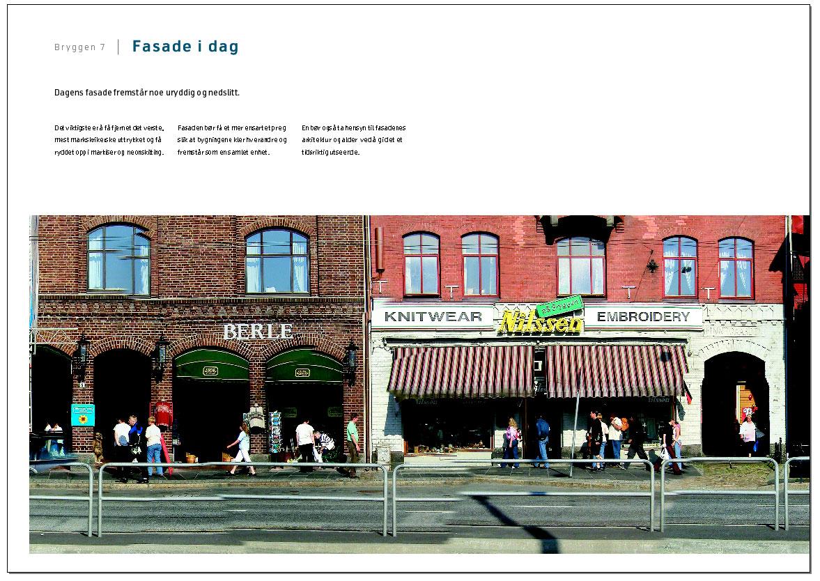 Fasadeendring på Bryggen